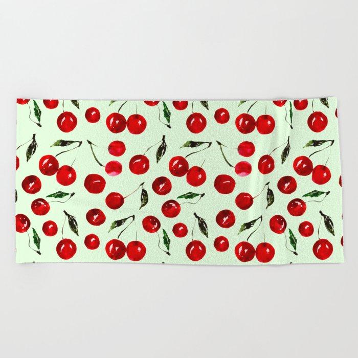 Very cherry Beach Towel