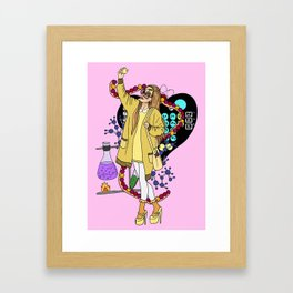 Honey Lemon Big hero six Framed Art Print