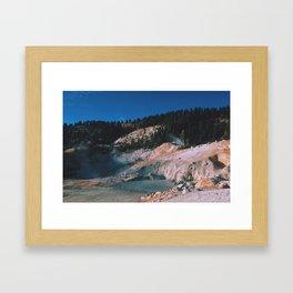 Bumpass Hell Framed Art Print