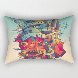 Moving Castle Rectangular Pillow