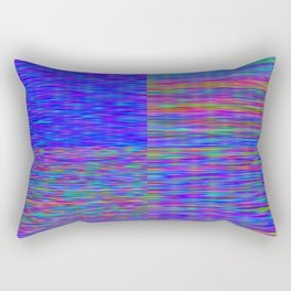 Re-Created Flag V by Robert S. Lee Rectangular Pillow