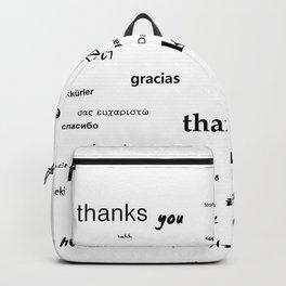 Thanks for living Backpack
