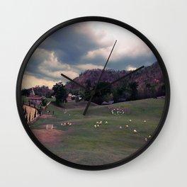 SWISS VALLEY Wall Clock