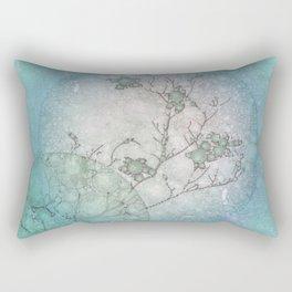 Serenity Blue Rectangular Pillow