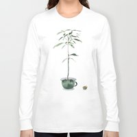 avocado Long Sleeve T-shirts featuring Avocado Tree by J Arell
