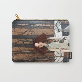 OOla visiting Black Saturday Carry-All Pouch