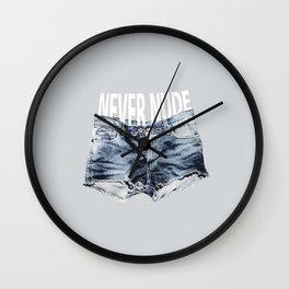Never Nude Tobias Funke Wall Clock
