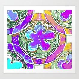 Cinquefoil 2 Art Print