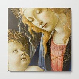 Madonna and Child Renaissance Religious art Metal Print