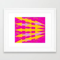 arrows Framed Art Prints featuring ARROWS by Latidra Washington
