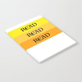 READ READ READ {YELLOW} Notebook