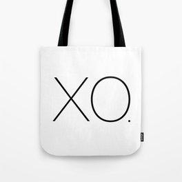Minimalism XOXO Tote Bag