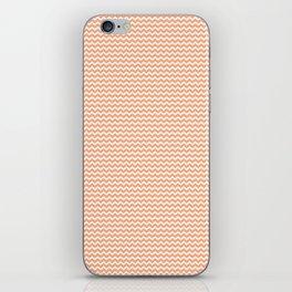 Chevron Orange iPhone Skin