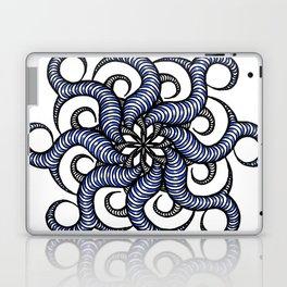 Reverse in blue Laptop & iPad Skin