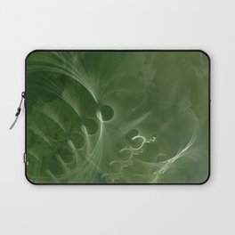 Abstract Green Marble Laptop Sleeve