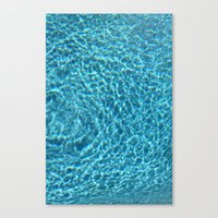 pool Canvas Prints featuring Pool by Manuel Estrela 113 Art Miami