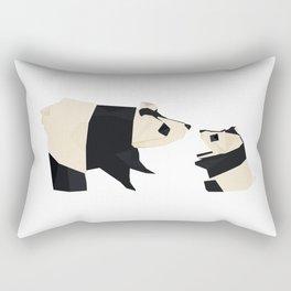 Origami Giant Panda Rectangular Pillow