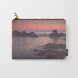 Foggy sunset. Roche Reefs. Sancti Petri. Spain Carry-All Pouch