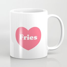 Heart Fries Coffee Mug