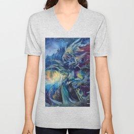 Dragonknight Unisex V-Neck