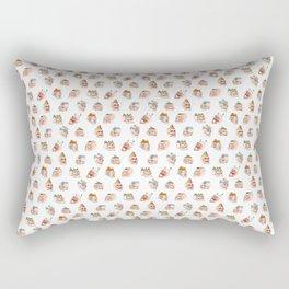 Mountain Fresh Hair Pattern Rectangular Pillow