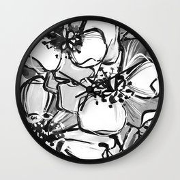 53/365 Black and White Wall Clock