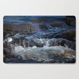 Rocks at Mississippi Headwaters Cutting Board