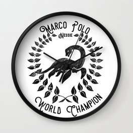 Nessie - Marco Polo World Champion Wall Clock