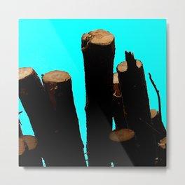 Use the Logs! Metal Print