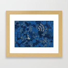 Hey, Beautiful Framed Art Print