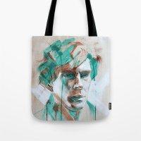 sherlock Tote Bags featuring Sherlock by Dan Olivier-Argyle
