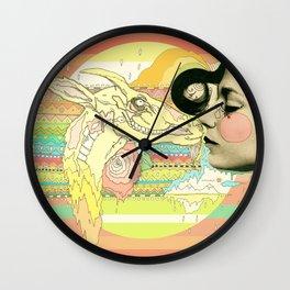 luv el chivo, la cabra  Wall Clock