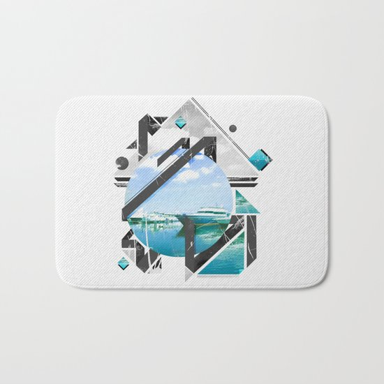 Sea & Sky Deviation Bath Mat