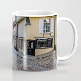 Medieval street of Elm Hill, Norwich Coffee Mug