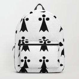 Hermine -Ermine-armino 1 Backpack