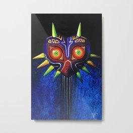 Masked Painting Metal Print