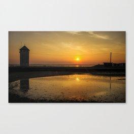 Brightlingsea Beach Canvas Print