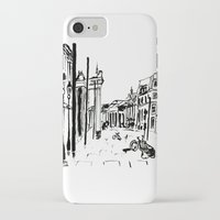 cityscape iPhone & iPod Cases featuring CITYSCAPE by hawwa a