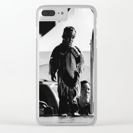 Ready for stage ? Kid Indians stage dance costum Clear iPhone Case