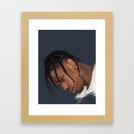 La Flame Framed Art Print
