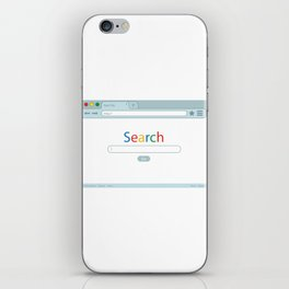 Search Engine iPhone Skin