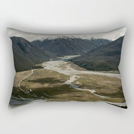 Valley of shadows Rectangular Pillow