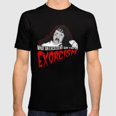 Excellent Exorcism  Black MEDIUM Mens Fitted Tee