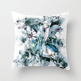 PARROT SPLASH Throw Pillow