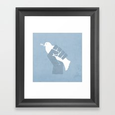 Obtain Peace Revolution Framed Art Print