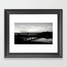 One on One Framed Art Print
