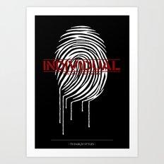 Individual Art Print