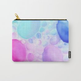 Blurry Bubbles Carry-All Pouch