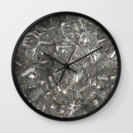 MetalArt  16 silver Wall Clock