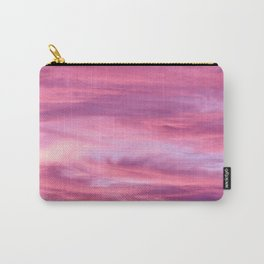 Pink Lavender Clouds Carry-All Pouch